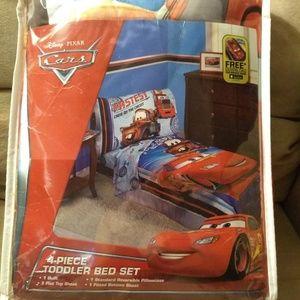 Cars toddler sheet set